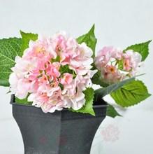 Decorativo fake hydrangea real touch flor falsa