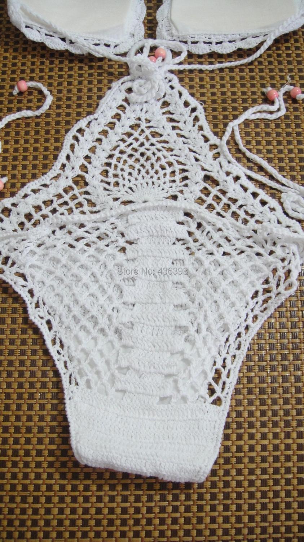 2018 Wholesale Fashion Sexy Women\'S Crochet Bathing Suit One Piece ...