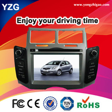HOT selling dashboard Car DVD GPS for TOYOTA YARIS 2005-2011 with BT/ GPS/TV/iPod Touch screen