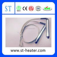 Aluminium sheath cartridge heater