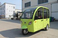 Brand new design electric three wheeler for passenger closed body