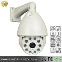 hot selling cctv camera brand 18X Optical Zoom ptz ip camera high speed dome outdoor waterproof IR 150M 1080P