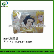 Plastic cosmetic bag and women's bag for Travel