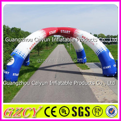 Sports Event Used Inflatable Start and Finish Line Arch Gate For Sale