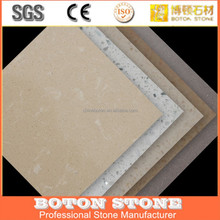 poly resin artificial marble, designed marble floor tiles