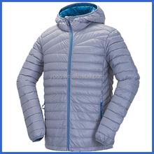 High performance ski down jacket with hood