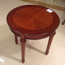 Cheapest hot sell round wooden coffee table