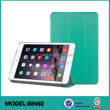 China supply 7.9 inch tablet PC leather case for iPad Mini 4