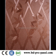 2.015 INDIA AND WEST AFRICA pvc wall panel v groove LOCK laminated