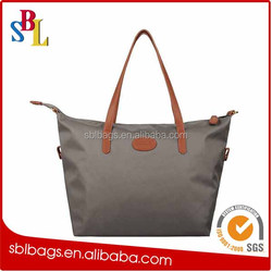 reusable shopping bag folding nylon bag & cheap nylon foldable shopping bag