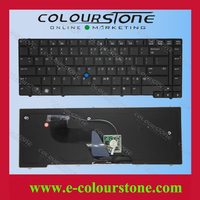 Original brand new for HP Elitebook 8440P 8440W 8440 laptop keyboard Black US layout notebook keyboard with point stick