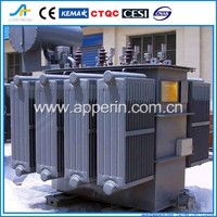 35kv iron core oil-filled Power Transformer two types of transformer