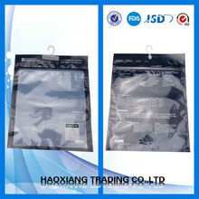 new product transparent cosmetic bag with handle with zipper china supplier