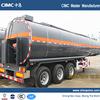 Tri Axle Liquid Asphalt Tank Trailer With Heating System