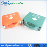Wholesale DIN 13157 Germany CE FDA approved oem promotional medical office custom first aid box checklist