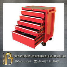 ISO certificated custom aluminum tool box with drawers , tool cabinets made in china