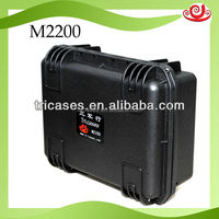 strong plastic case used for military equipment