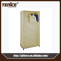 Bedroom storage modern folding portable assembled cheap wardrobe
