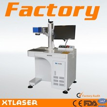Hot Sales xtlaser brand fast speed mini 10w 20w 30w fiber laser marking machine for animal/pigeon ring eastern