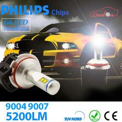 Qeedon excellent high quality super bright led headlight bulb h4 power bajajs