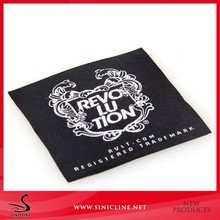 EXW High Quality Woven Patch label with exquisit artwork