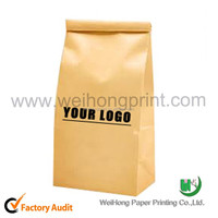 Factory price custom printed fried chicken packaging bags without handle supplied by Dongguan