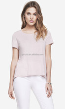 2016 wholesale women clothing competitive price blank women tops