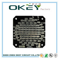 aluminium LED FR-4 PCB Board in shenzhen china