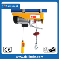 PA type with manual mini electric hoist with trolley chook, Double Speed