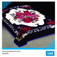 wholesale blanket Handmade knitted children flower blanket