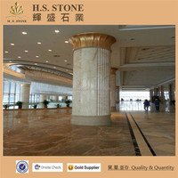 Golden Spider Marble Cream Beige Marble House Decorative Wall Floor Kicthen Cladding Marble Tile