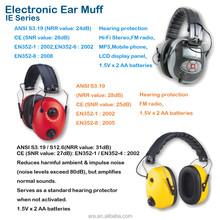 Electronic Ear Muff / Ear Protector with FM Radio Hi-Fi Mobile Phone