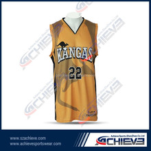 2015 new style sublimated cool team latest custom wholesale basketball wear