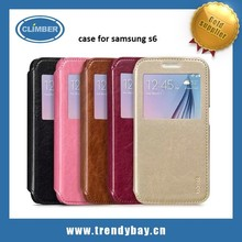 new products hot selling alibaba china supplier factory price high quality hoco leather case for samsung s6