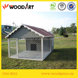 Large luxurious Wooden Dog House for large breed, mastiffs
