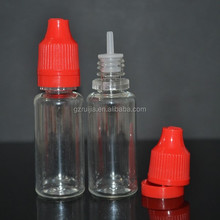15ml PET needle tip dropper bottle for e cigarette made in China