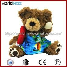 High quality Teddy bear plush toy TD1201-25