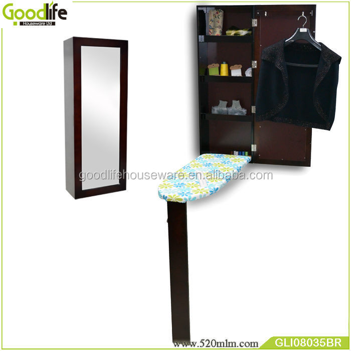 Small ironing board stand up reversible mirror ironing for Small stand up mirror