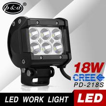 factory supply 12v 18w 1140lms cre e led works lighting for trucks