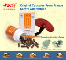 Chinese Organic Natural Herbs Sell Reishi Mushroom Spore Tablets/Capsule