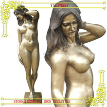 BRONZE nude lady sculpture YL-K183