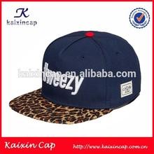 Bordado negro OEM Nuevo Sombrero elástico y la tapa/2014 Moda Personalizada Vuelva Hat/Cap y sombrero personalizado
