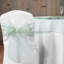 chair cover sash for wedding decoration, organza sash,satin sash