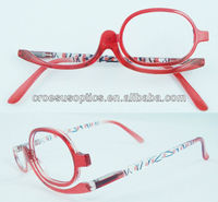 wenzhou made in China 2013 hot style CRPH893 plastic wholesale make up reading glasses