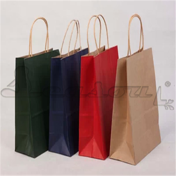 wholesale paper purse gift bags high quality kraft paper