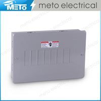 MTE2, Electrical Economy Series with Power 120/240V Modern Design Distribution Fuse Board 100amp Breaker Panel Box