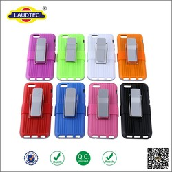 Heavy Duty Shockproof Back Cover Case for iphone 6 ,combo belt phone case
