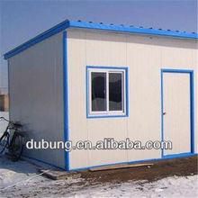 low cost flat roof prefab kit homes