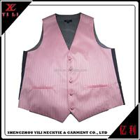 Custom new design cheap bulk sale men dress vest