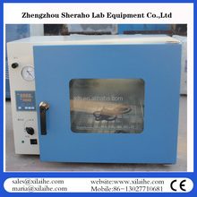 25L desk tap small electric drying vacuum oven with vacuum pump